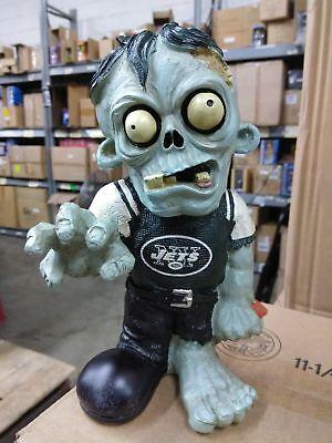 New York Jets Zombie in Green NY Jets Shirt Bobblehead Halloween ()