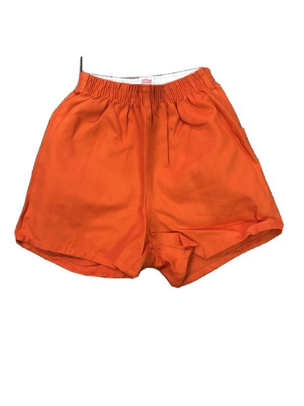 Vintage Hanes Hanesport Cotton Gym Short Rare Usa Made Size XS Hanes 70s