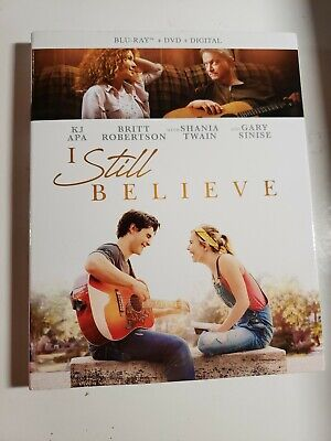 I Still Believe Blu Ray + DVD + NO DIGITAL W/ Slipcover  Free Shipping
