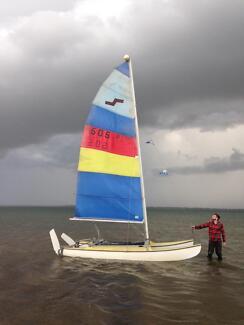 4.3m Seamatch Catamaran