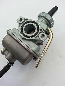 PZ18-18mm-CARBURATORE-MOTORINO-C70-XR75-XR80-Motore-Moto-Manuale-lungo-braccio