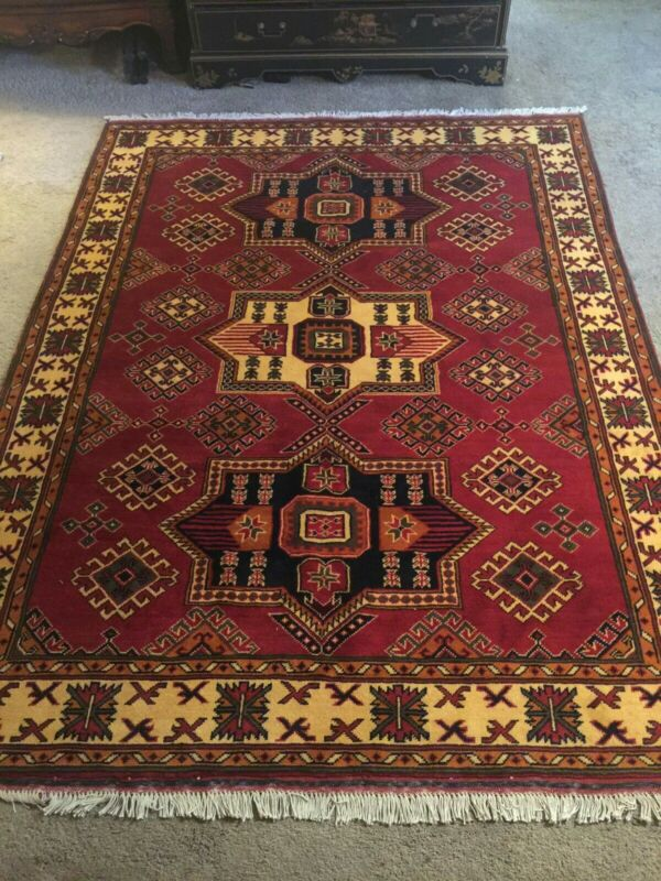 Fine Quality Authentic Wool Hand knotted Persiann Rug Carpet Runner