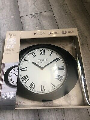 oxford station clock brand new