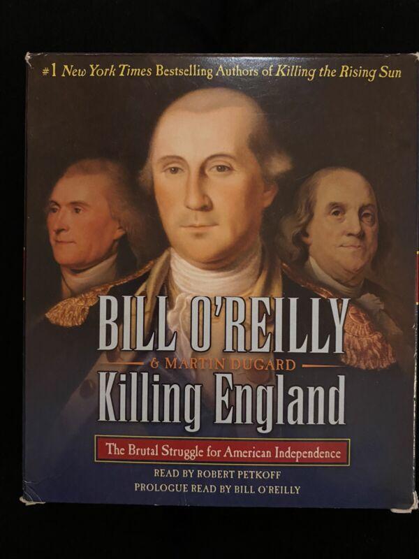 Killing England Bill Oreilly audio book