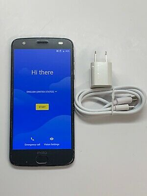 Motorola Moto Z2 Force XT1789 64GB Black Verizon + GSM Unlocked Smartphone 6/10*
