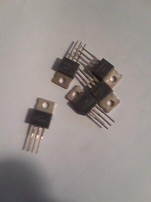 5 Pcs 2sd526 Transistor To-220 Npn 30 W 80 V 4 A Hfe 60 Ft 3