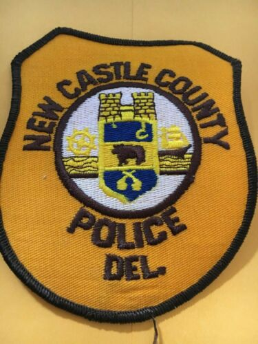 New Castle County Delaware Police Patch version 2
