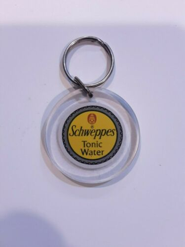 SCHWEPPES TONIC WATER DOUBLE SIDED KEY CHAIN