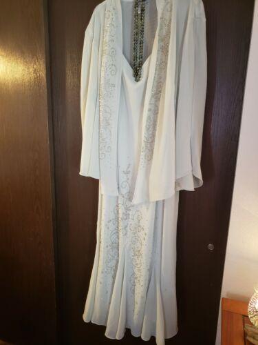 Beautiful Beaded Formal Dress Plus Size30W Catherine