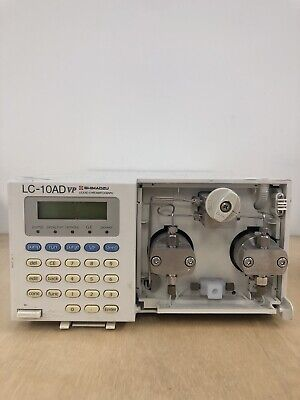 Shimadzu Lc-10ad Vp Hplc Lc Pump Liquid Chromatography Lc10advp