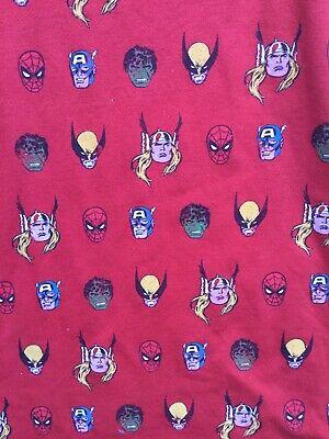 NEVER PRODUCED SAMPLE Marvel Dress Thor Captain America Hulk Wolverine Medium