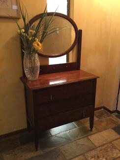 Antique Dressing Table In Western Australia Gumtree Australia - Antique oak dressing table