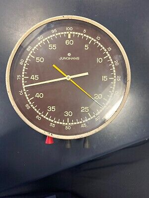 Junghans Rare Darkroom Stop Clock Mid 20th Cebtury