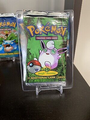 Pokemon 1st Edition Jungle Sealed Booster Pack