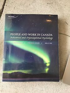 People and Work in Canada: Industrial and Organizational Psych.