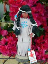 Vintage Canadian Indian Doll from Deceased Estate Collection Ballajura Swan Area Preview