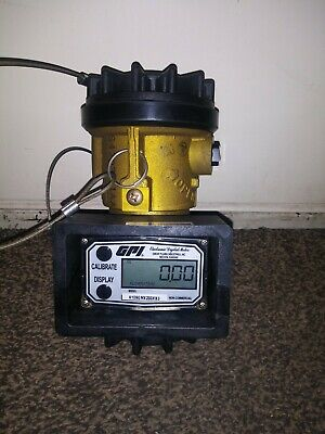 Gpi Electronic Digital Meter A109gmx200xb3 And Eaton Valve 4 Gauge