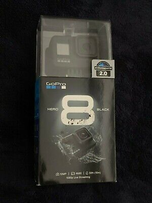 GoPro HERO8 Black Action Camera SEALED Live Streaming 12mp Photo 4k Video Res