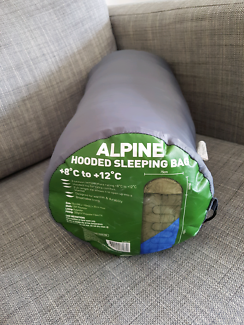 Alpine Hooded Sleeping bag. Excellent condition.