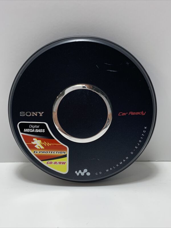 Sony Portable CD Player Walkman D-EJ017CK Mega Bass G-Protection Tested Working