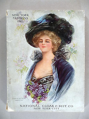 "National Cloak CATALOG - 1910 -- ""New York Fashions"" catalog"