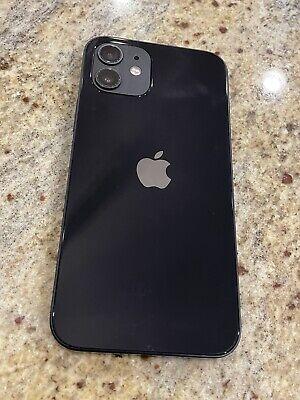Unlocked Black iPhone 12 256GB