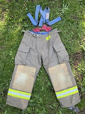 Morning Pride Fire Fighter Turnout Pants 36x29 Bunker Gear 2774
