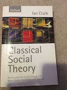 Sociology Theory Text Book