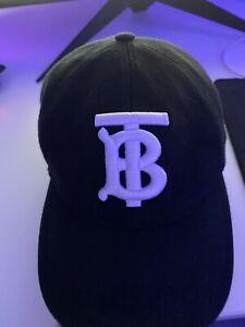 Burberry embroidered monogram cap