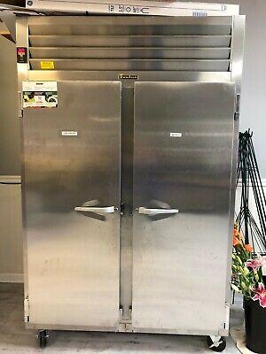 Traulsen Two Door Reach-in Refrigerator Model Ret132eut. Excellent Condition.