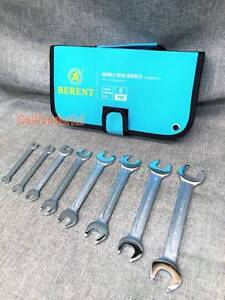 8PC Chrome Vanadium Steel Metric Double Open Spanner Wrench Set Epping Whittlesea Area Preview