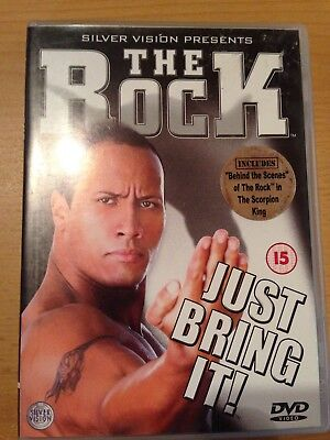 WWF Wrestling The Rock Just Bring It DVD WWE ECW WCW TNA Extreme