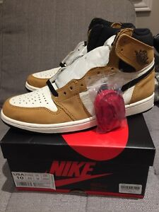ROOKIE OF THE YEAR - AIR JORDAN 1s OG HIGH - SIZE 10 !
