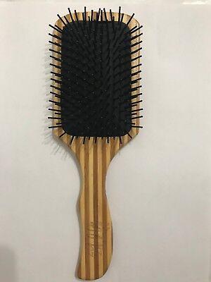 Bamboo Wood Hair Paddle Brush Keratin Care Massage Wood Massage Brush