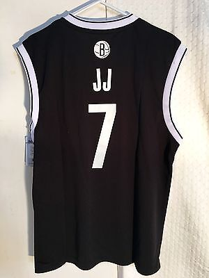 Joe Johnson Jersey - Adidas NBA Jersey Nets Joe Johnson Black Nickname sz S