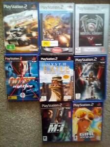 PS2 Various Playstation 2 Games Individual Prices $5-$20