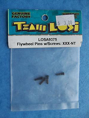 TEAM LOSI 9375 FLYWHEEL PINS w/SCREWS XXX-NT NXT LOSA9375 NIP