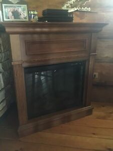 Elec fireplace heater