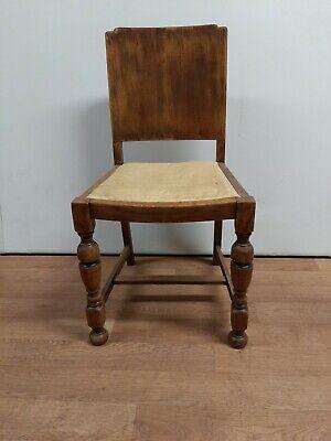 Vintage Wooden Oak Chair