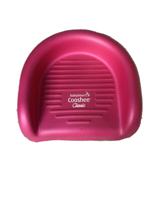 Babysmart Cooshee Classic Soft Foam Pink Booster Seat Cushion For Toddlers.