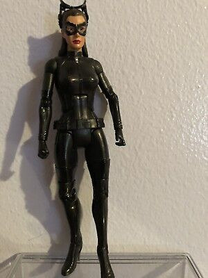 DC Movie Masters - 2012 CATWOMAN Goggles UP Action Figure Loose (Goggles Catwoman)