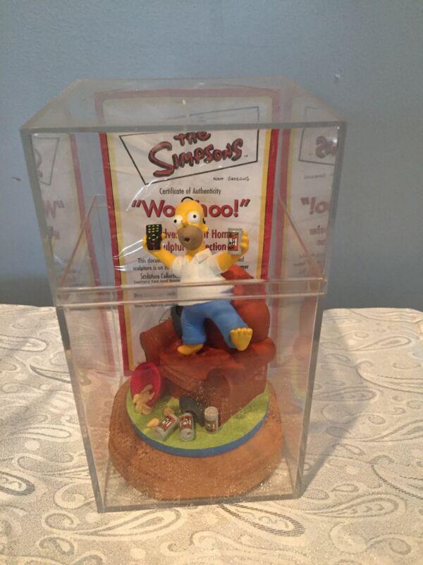 "The Simpsons Hamilton Collection ""Woo-Hoo"" Misadventures of Homer Sculpture"