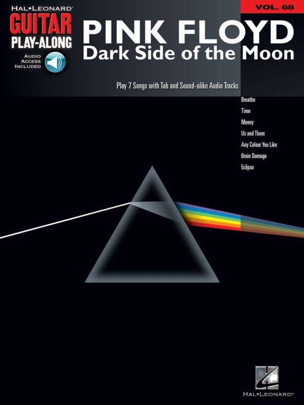 Pink Floyd Dark Side of the Moon Guitar Play-Along Vol 68 Tab Book Online Audio