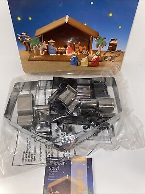 Birkmann nativity cookie cutters new in Box With Instructions Recipes. Germany