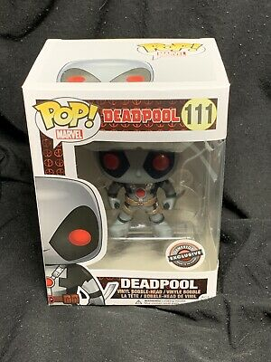 Funko Pop Marvel Deadpool X-force Gamestop Exclusive