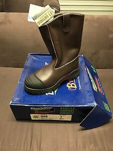 Blundstone steel cap slip on work boot Algester Brisbane South West Preview