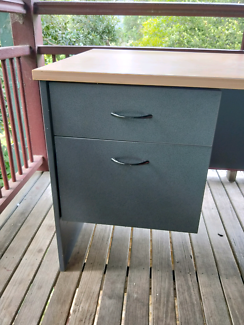Desk with built in draws