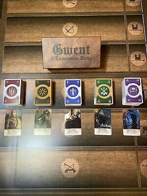 GWENT CARDS (5 *EXPANSION* Decks) 460 Cards Witcher 3, Full Set