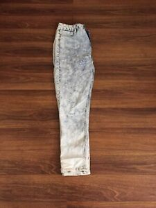 Light washed high waisted jeans