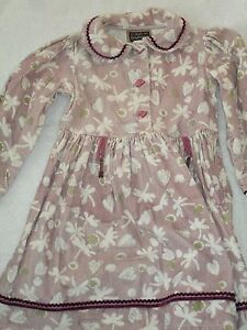 Girl's Quebec designer dress sz 4